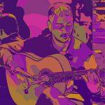 IBAN PEREZ, guitar.